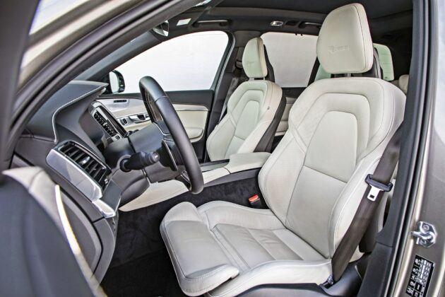 Volvo XC90 - fotele przednie