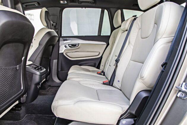 Volvo XC90 - tylna kanapa