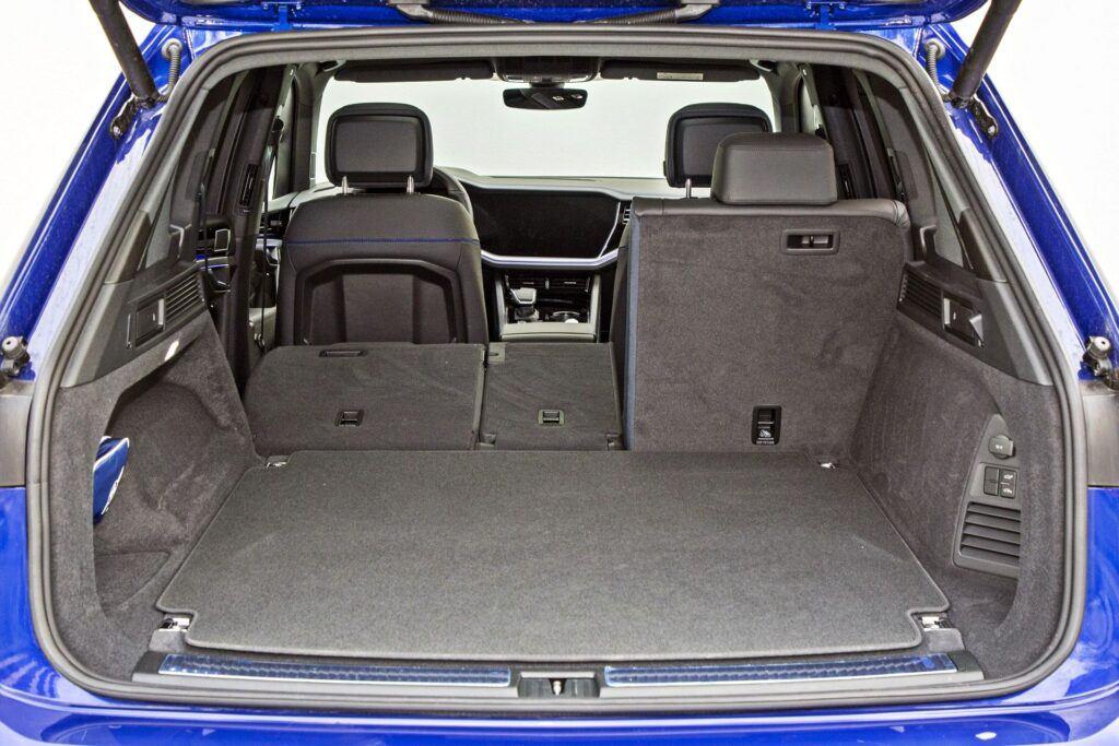 VW Touareg R - bagażnik