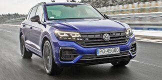 VW Touareg R - przód