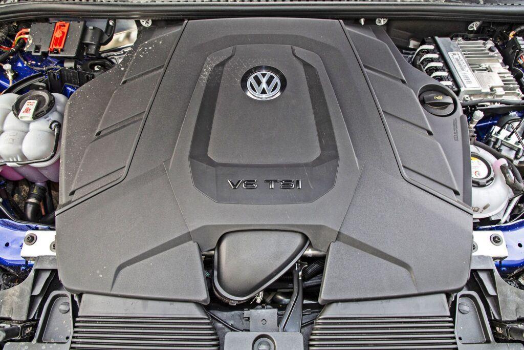 VW Touareg R - silnik