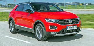 VW T-Roc - przód