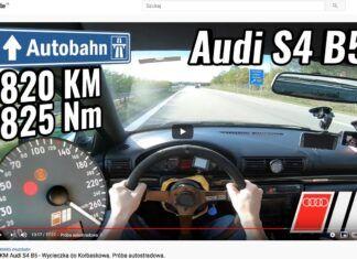 820 KM w Audi A4. Od 200 do 300 km/h przyspiesza lepiej niż Veyron!