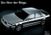 Audi w kolorze aluminium
