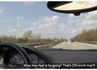 Myślał, że ma szybkie BMW M3. Nie dogonił Transportera przy 220 km/h...