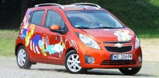 CHEVROLET Spark II LS 1.0 68KM 5MT WE3064W 08-2010
