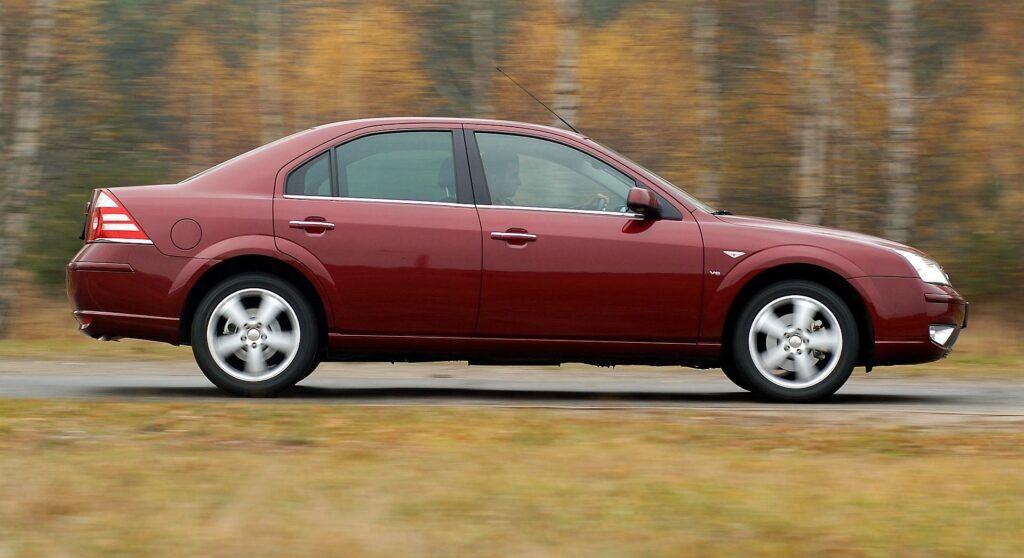 FORD Mondeo III FL Sedan 3.0 V6 24V 204KM 6MT WU39122 11-2005