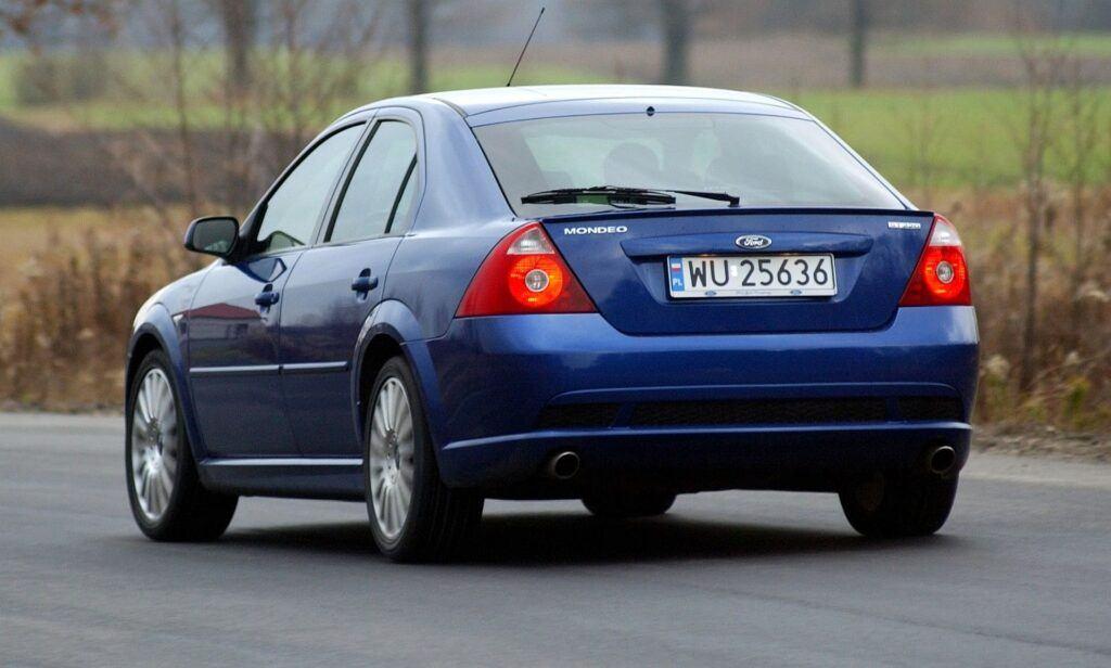 FORD Mondeo III ST220 3.0 V6 24V 226KM 6MT WU25636 11-2003