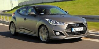 HYUNDAI Veloster Executive 1.6T-GDI 186KM 6MT WE345FY 09-2013