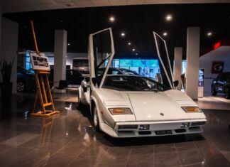 Legendarne Lamborghini Countach w Radomiu