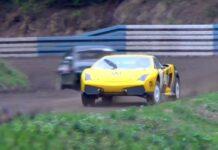 Lamborghini Gallardo na szutrze