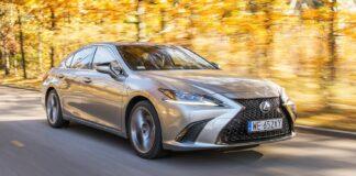 Lexus ES 300h F Sport 2020 test 01