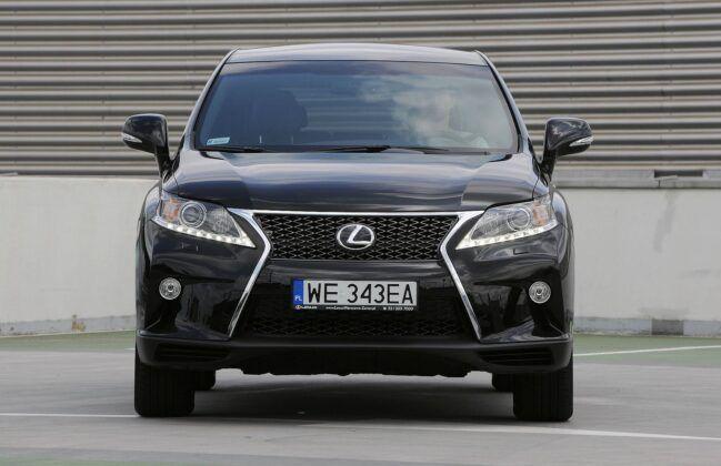 LEXUS RX 350 III FL F-Sport 3.5 V6 277KM 6AT WE343EA 06-2012