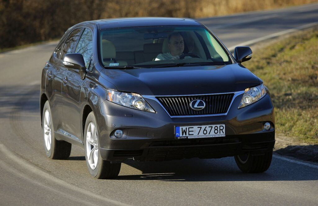 LEXUS RX 350 III 3.5 V6 277KM 6AT WE7678R 02-2009