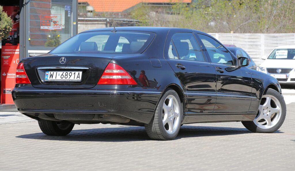 Mercedes klasy S W220 W221 12