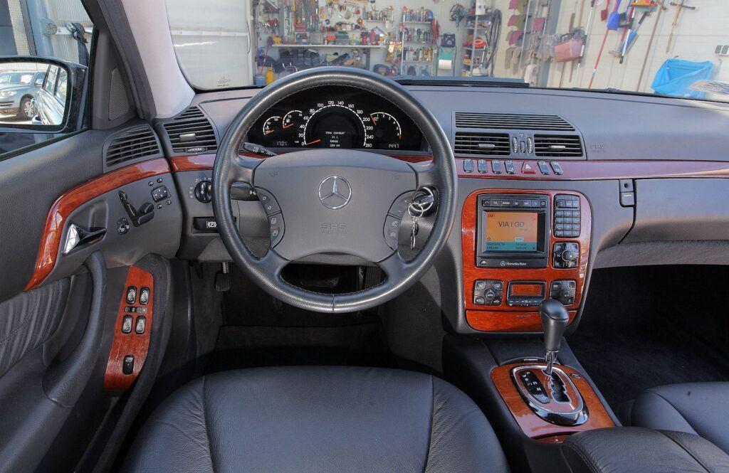 Mercedes klasy S W220 W221 15