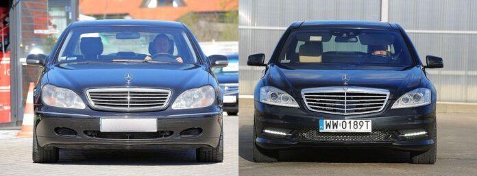 Mercedes klasy S W220 W221