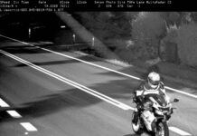 Motocykl fotoradar zdjecie
