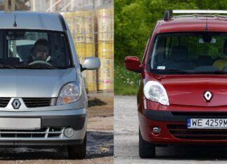 Używane Renault Kangoo I i Renault Kangoo II - którą generację wybrać?