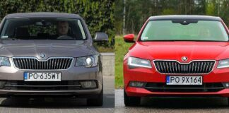 Skoda Superb II i Superb III