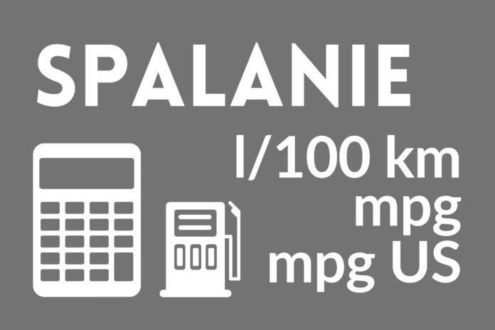Kalkulator zużycia paliwa