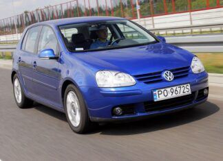 Używany Volkswagen Golf V (2003-2008) - opinie, dane techniczne, usterki