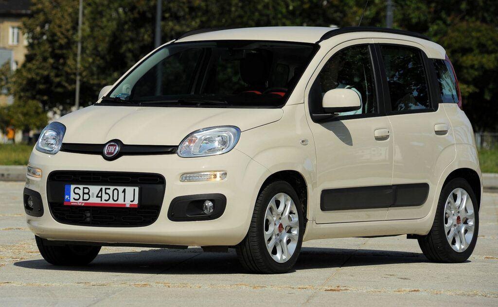FIAT Panda III Lounge 1.2 8V 69KM 5MT SB4501J 08-2012