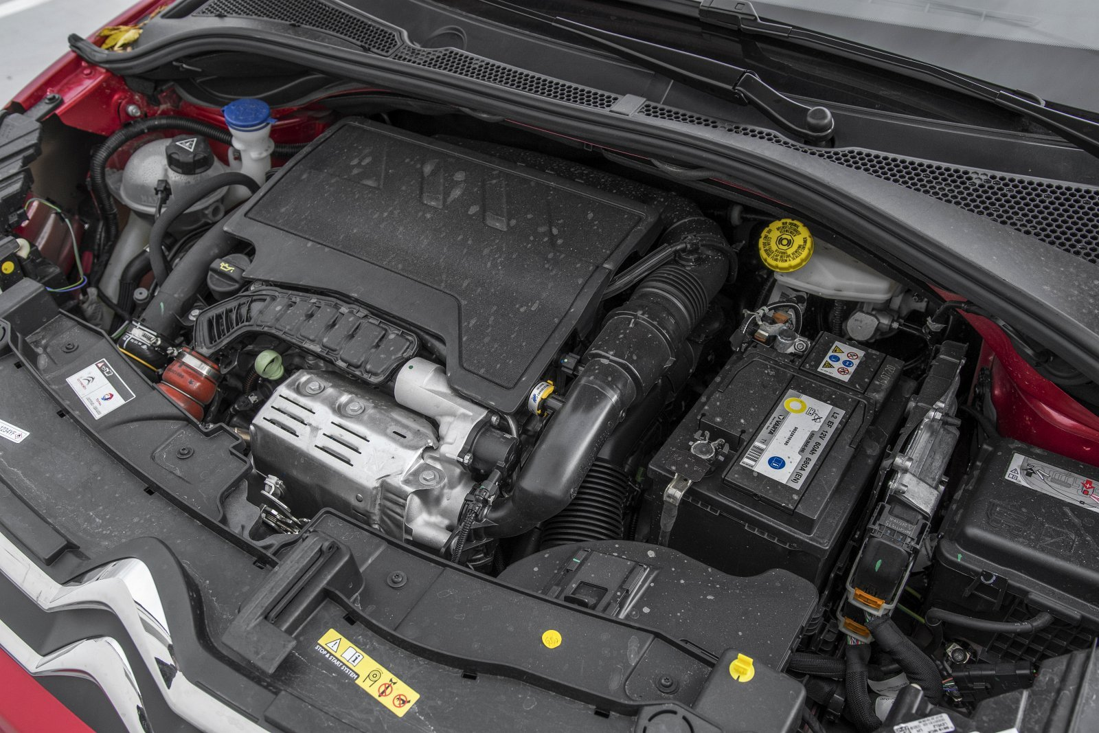 Citroen C3 1.2 PureTech 110 test 2020 - silnik