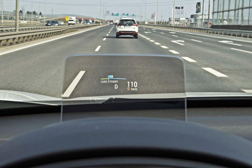 Honda CR-V - wyświetlacz head-up