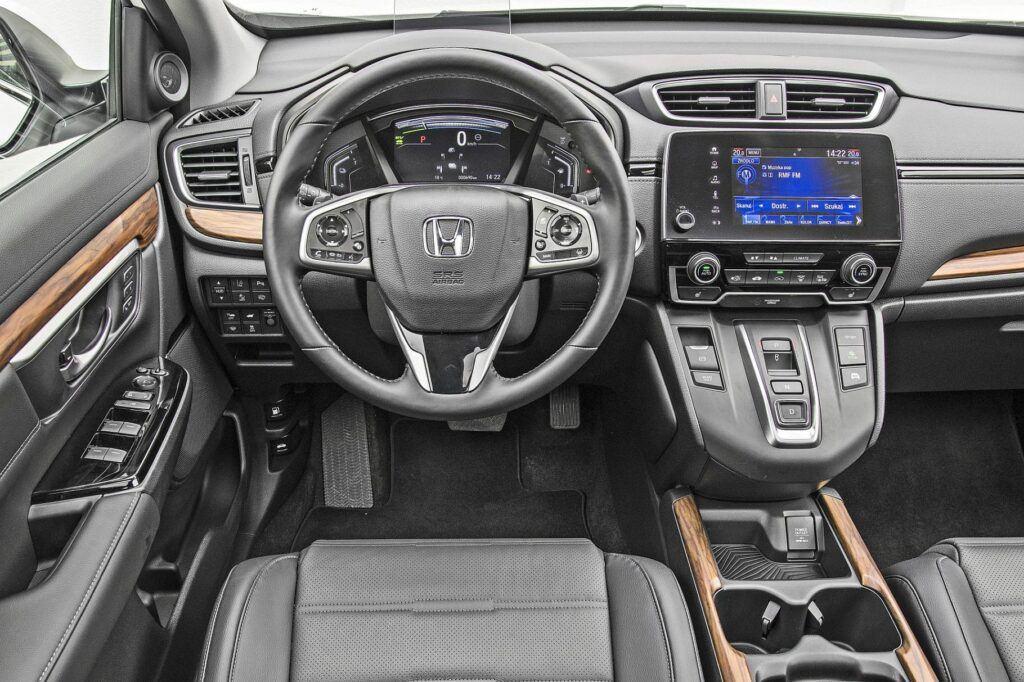 Honda CR-V - deska rozdzielcza