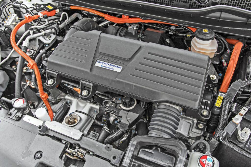 Honda CR-V - silnik