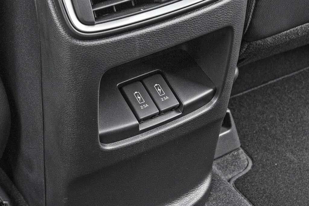 Honda CR-V - gniazda USB