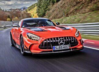 Mercedes-AMG GT Black Series – nowy rekordzista Nurburgringu
