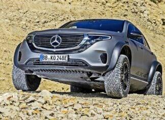 Mercedes EQC 4x4² w akcji. Zobacz, co potrafi