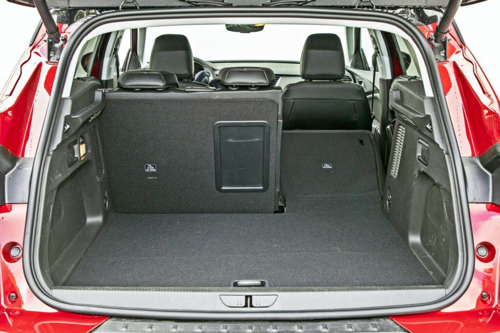 Opel Grandland X - bagażnik