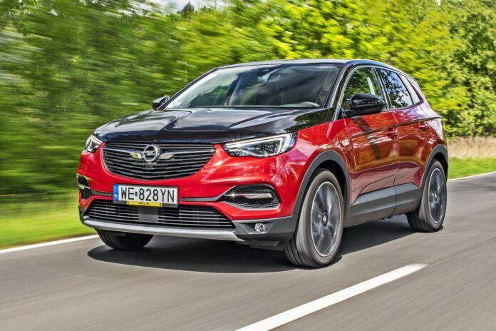 Opel Grandland X - przód