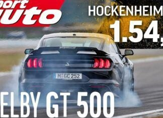 Ford Mustang Shelby GT500 – test na torze