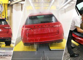 Czas na kąpiel! Tak Skoda sprawdza wodoszczelność swoich aut
