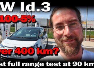 Nowy Volkswagen ID.3 – test zużycia prądu w trasie