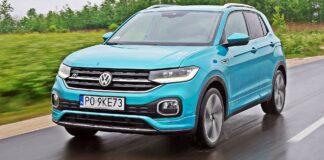 VW T-Cross - przód