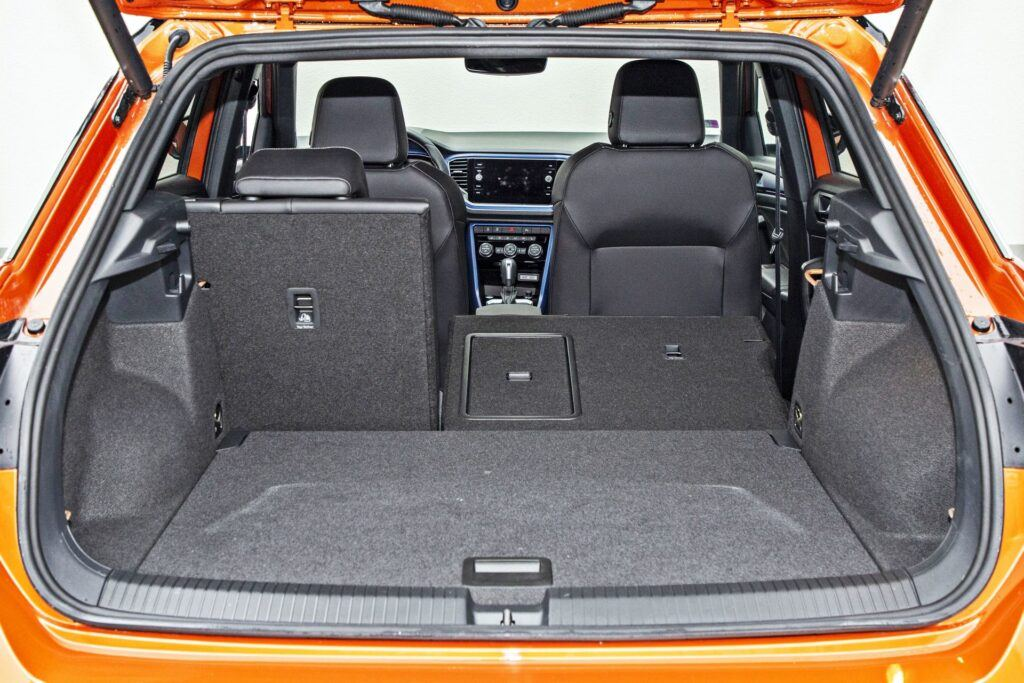 VW T-Roc R - bagażnik