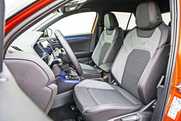 VW T-Roc R - fotele przednie