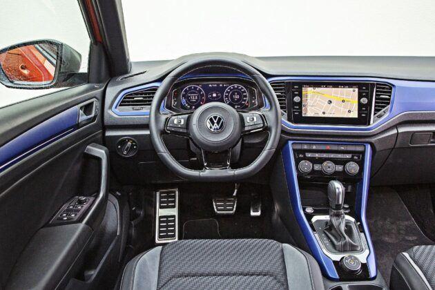 VW T-Roc R - deska rozdzielcza
