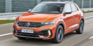 VW T-Roc R - przód