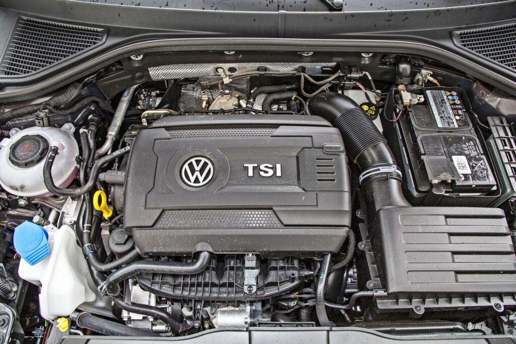 VW T-Roc R - silnik
