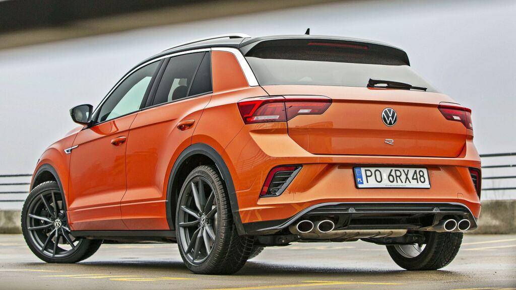 VW T-Roc R - tył