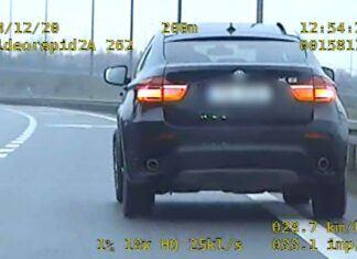 Gubił śruby od kół w BMW X6. Ale jechał dalej!