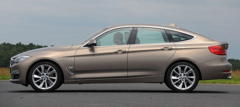 BMW 320d F34 Gran Turismo Modern Line 2.0d 184KM 8AT WY5681V 06-2013