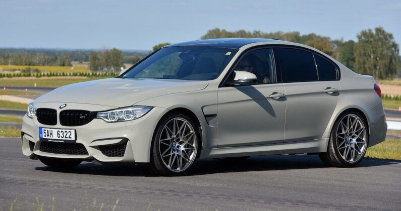 BMW M3 Competition F80 3.0T R6 450KM 7AT M DCT 5AH6322 08-2016
