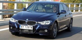 BMW 335d F30 FL M-Sport 3.0d R6 313KM 8AT xDrive WY1281W 10-2015